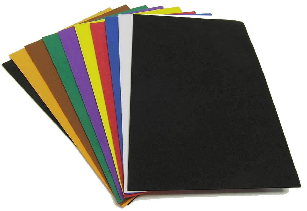 EVA Foam Sheets in various colours
