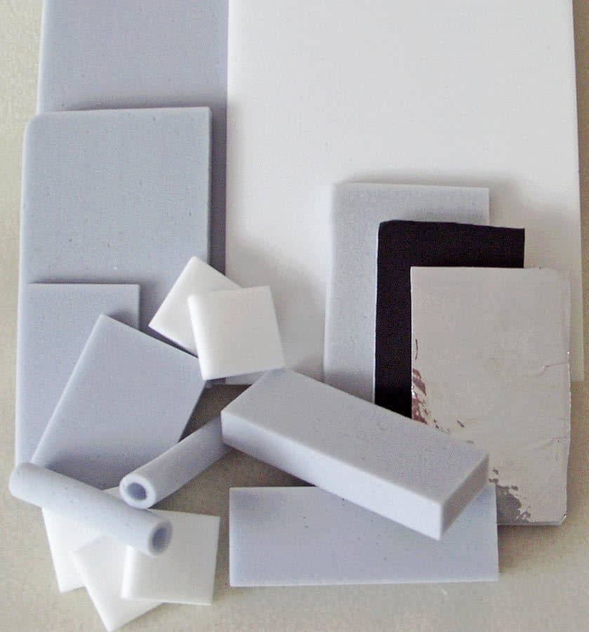 Melamine Foam squares, sheets, and tubes